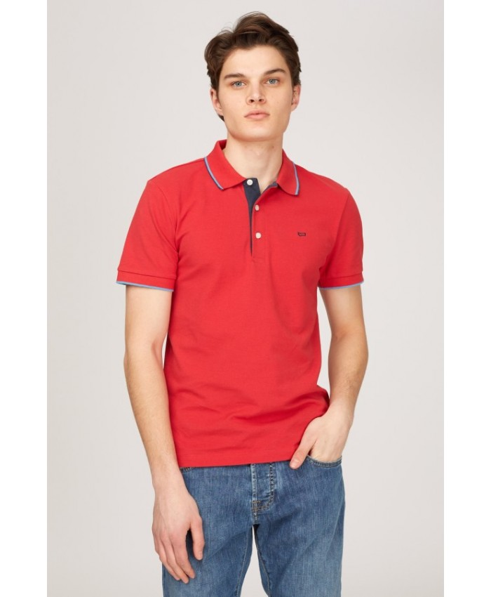 POLO RALPH S/DET.SS - rosso